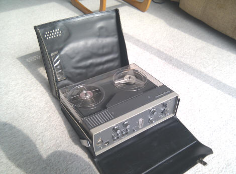 Tandberg Model 11 battery portable tape recorder