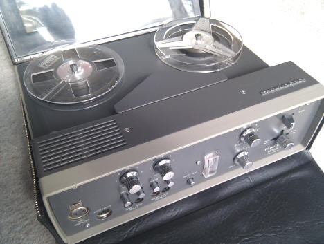 Tandberg Model 11 portable tape recorder